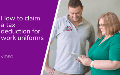 How to claim a tax deduction for work uniform expenses